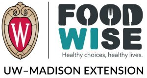 FoodWIse Logo. Healthy choices, healthy lives. UW-Madison Extension