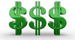 Clipart of Dollar Signs
